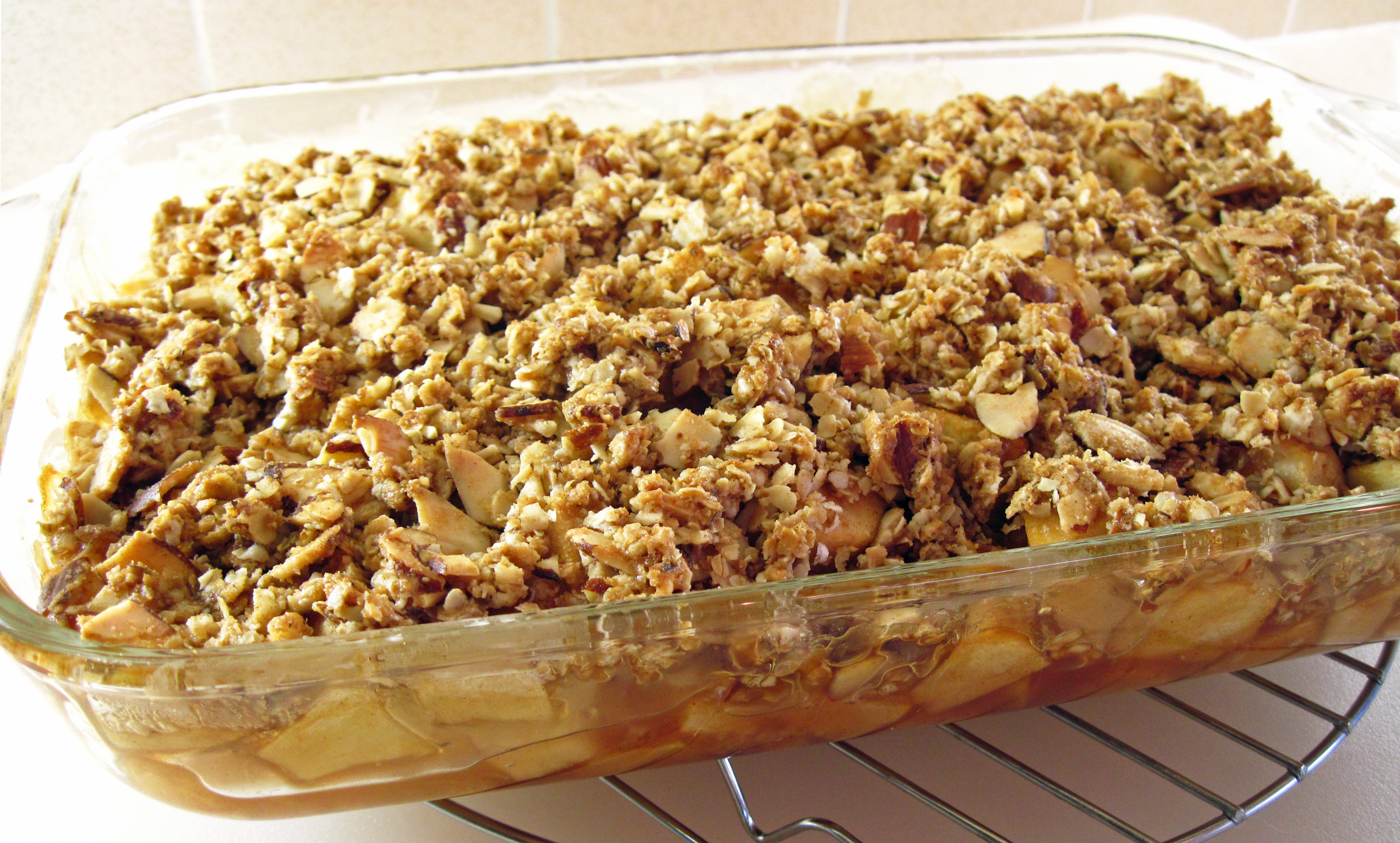 Apple Crisp (or any Fruit Crisp) | In the kitchen with Kath