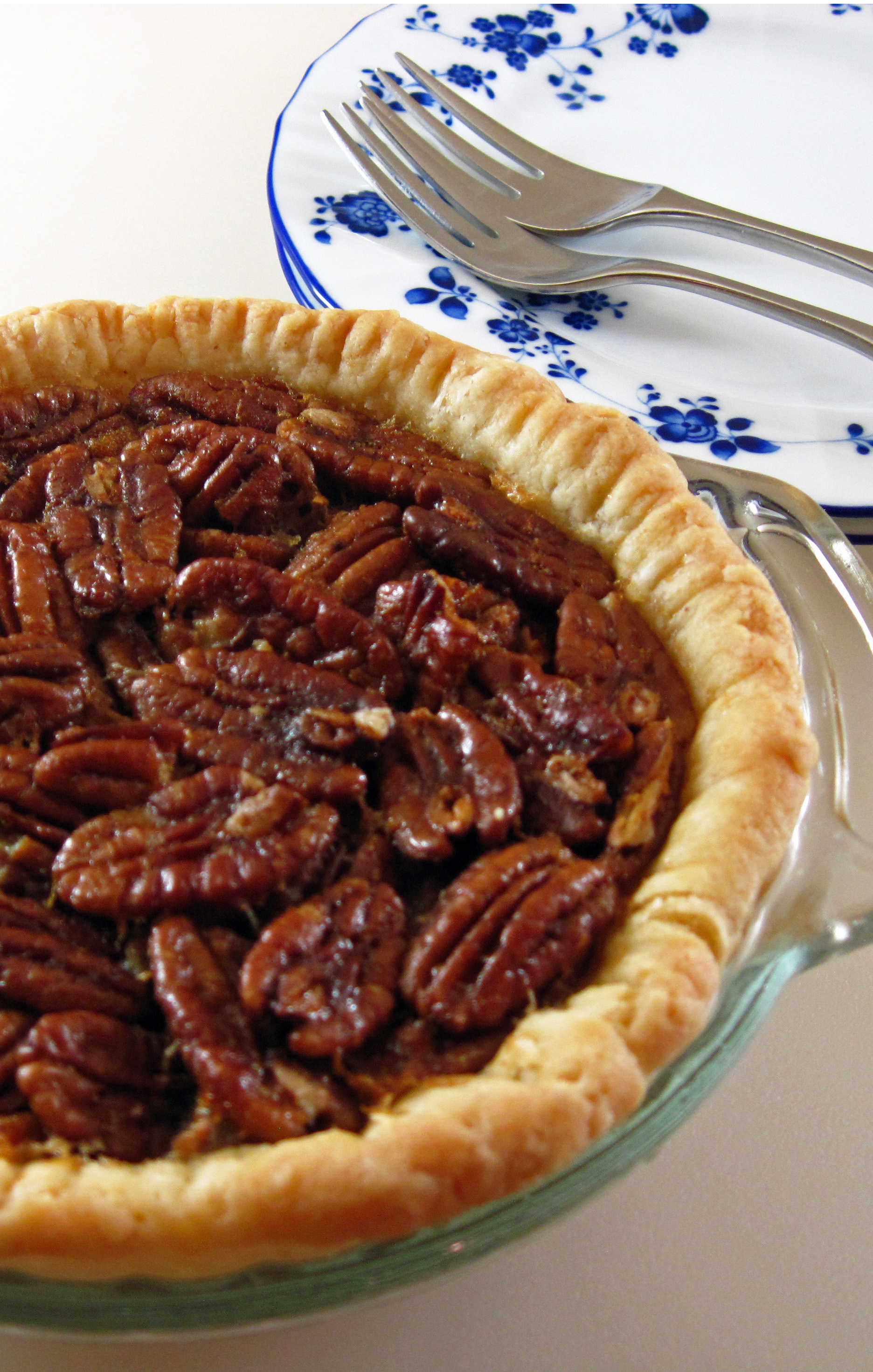 Petite Pecan Pie tall & Pecan Pie for Two in honor of Pi Day | In the kitchen with Kath