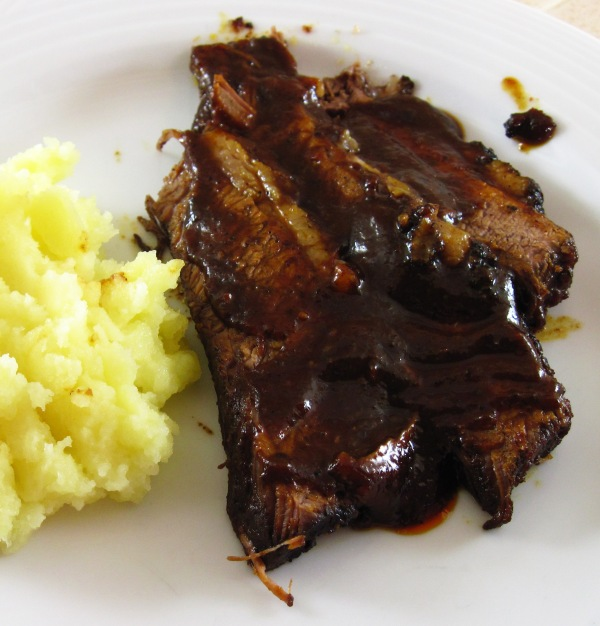 Brisket with Berbere & Whiskey Barbecue Sauce 2