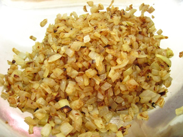 golden brown onions