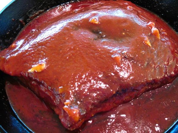 sauce added