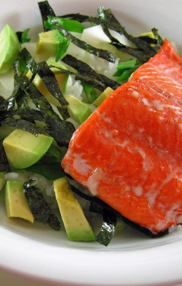 Salmon Chirashi