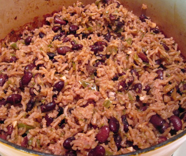 Black beans and rice - 3