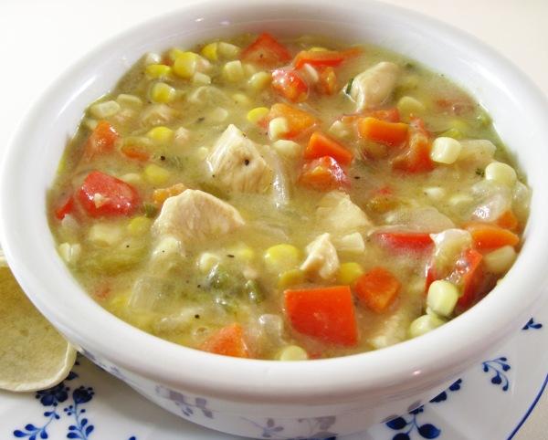 Mika Garnett's Southwest Chicken and Green Chile Stew