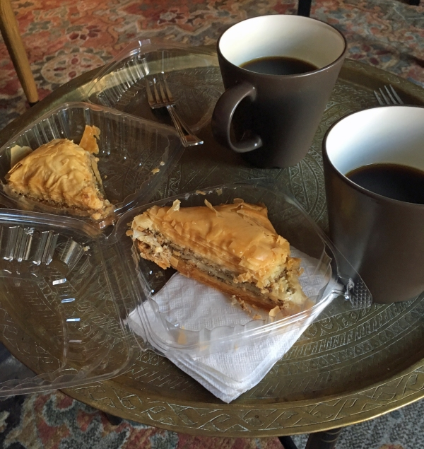 Baklava from Tudor Gourmet Deli