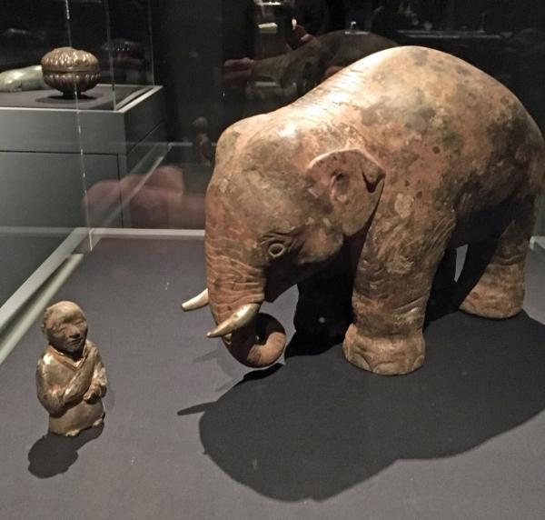 Elephant and Groom