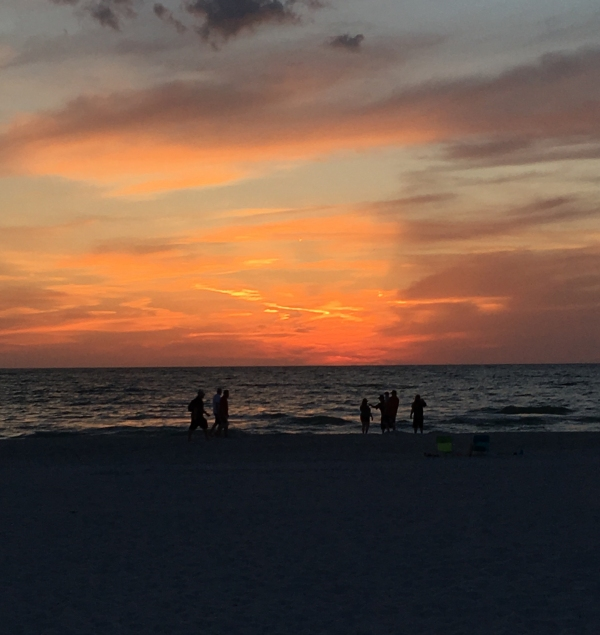 Sunset at St. Pete Beach