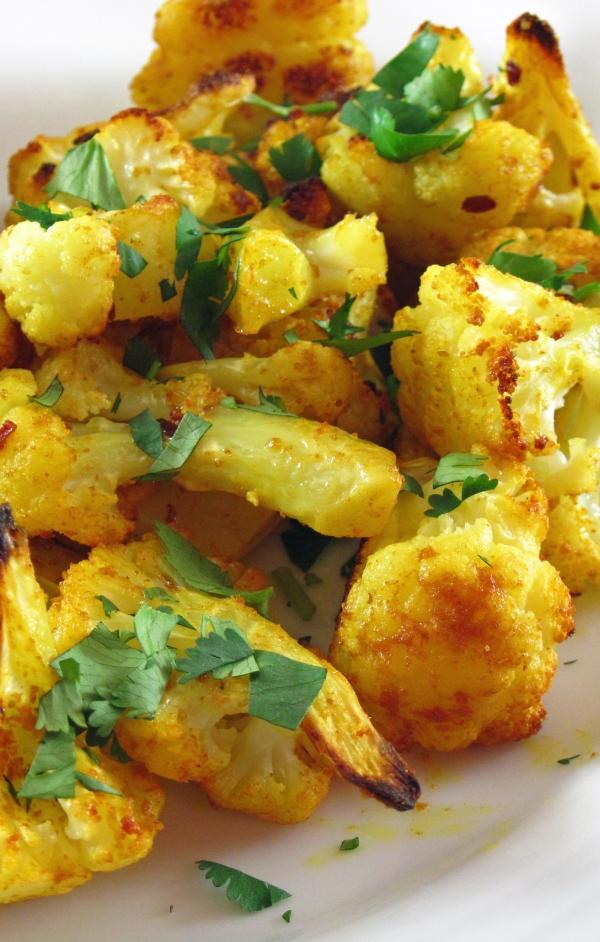 Turmeric Roasted Cauliflower - Copy