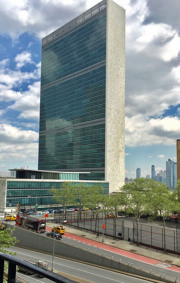 View of the UN from Tudor City - Copy