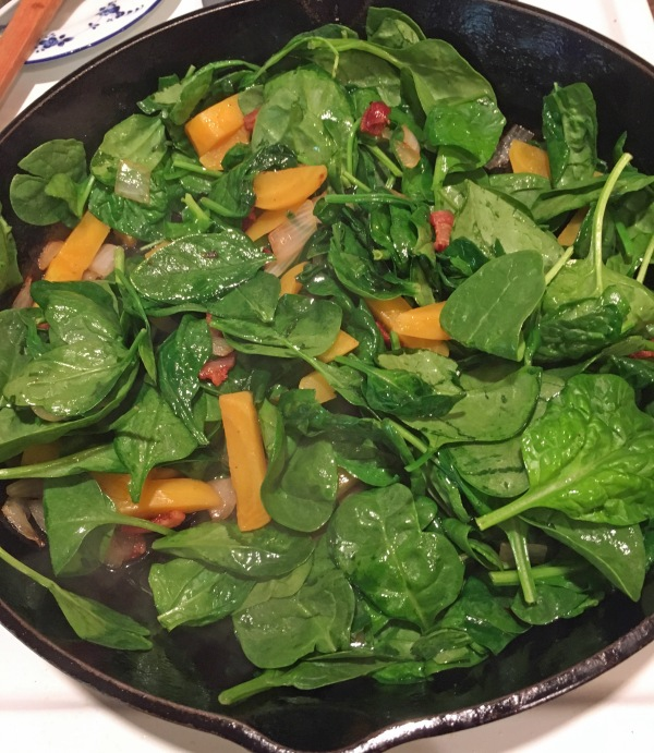 Spinach added
