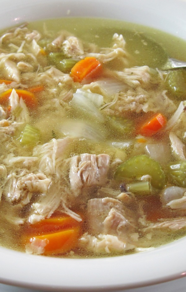 Instant Pot Chicken Soup - Copy