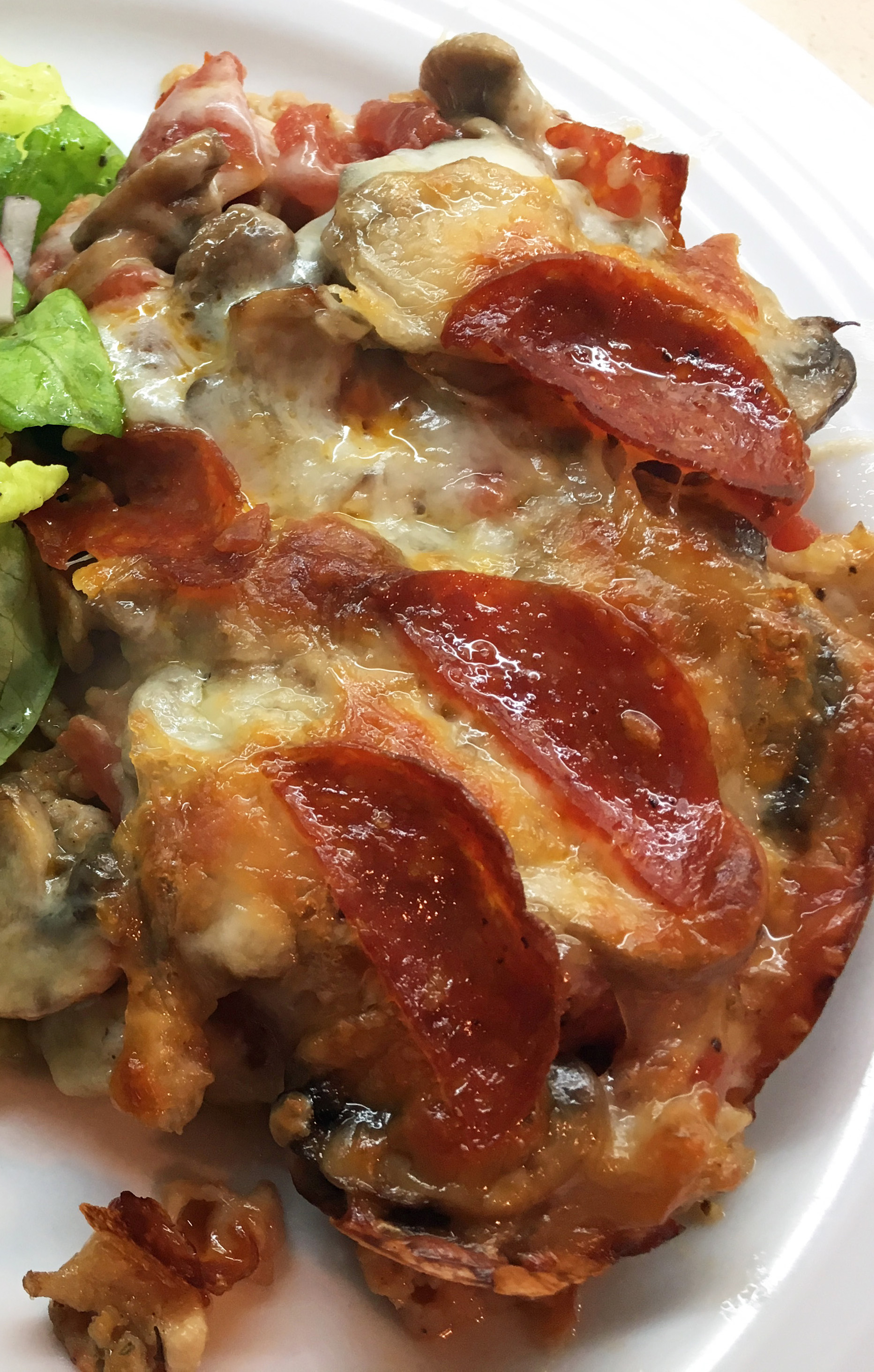 Low-Carb Pizza Casserole - Copy