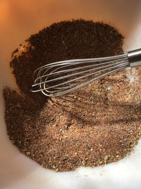 Whisked spices