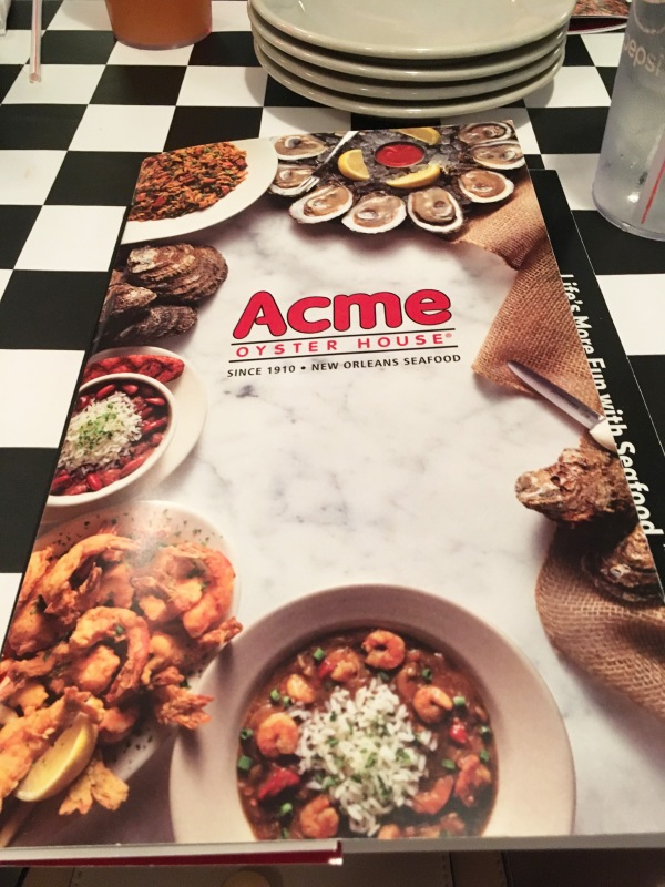 Acme Oyster House in Covington