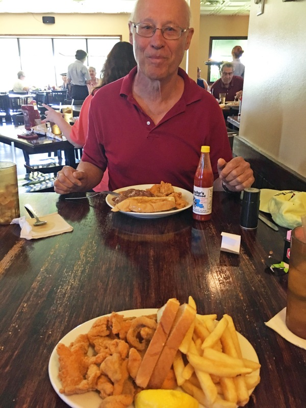 Catfish chips at Spahrs