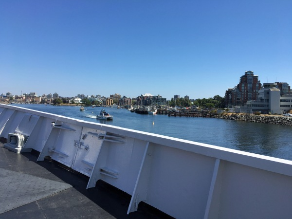 Arriving in Victoria