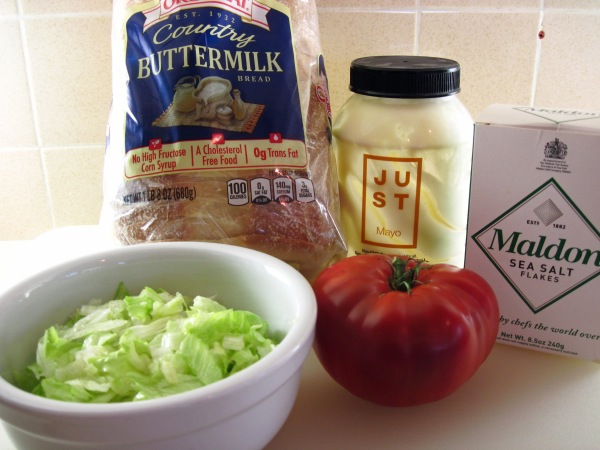 Ingredients for BLTs