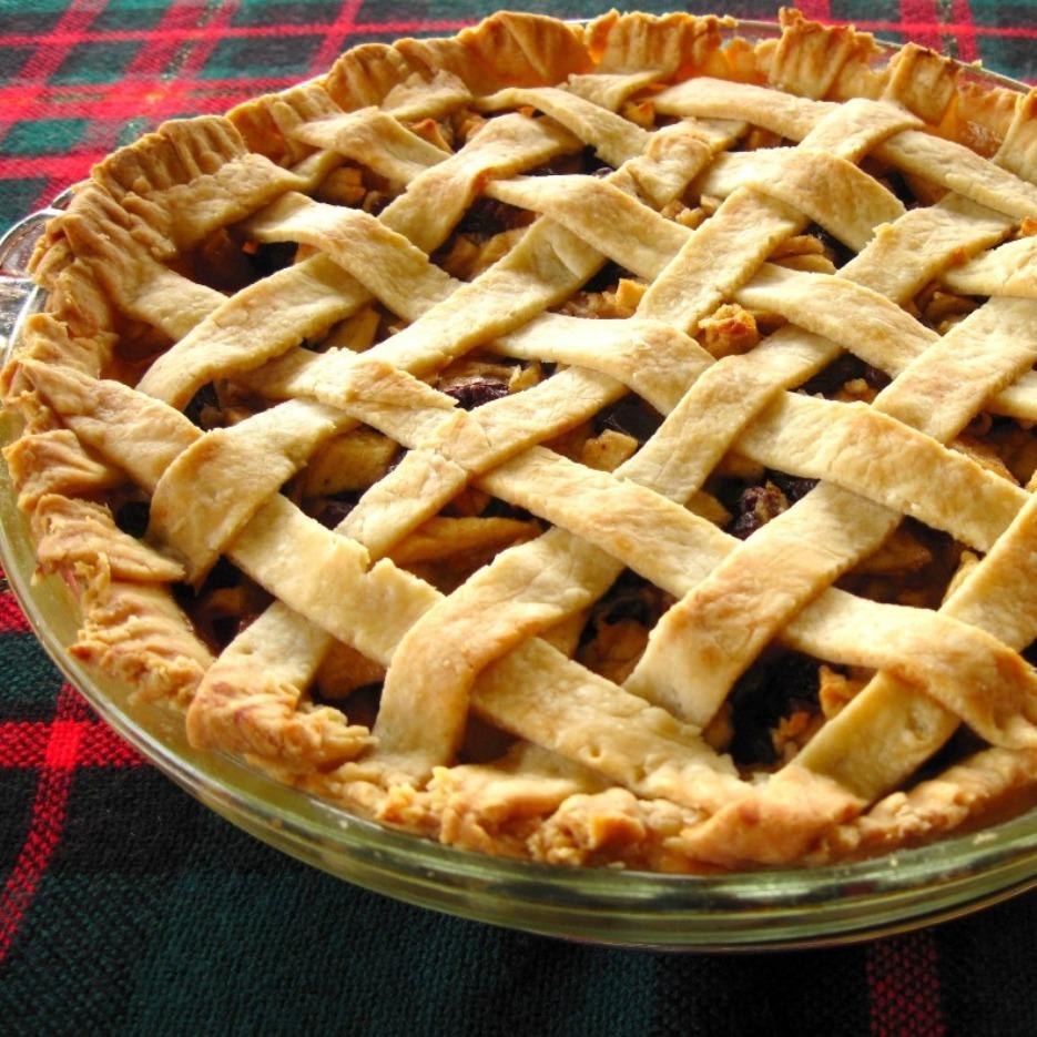 baked mincemeat pie