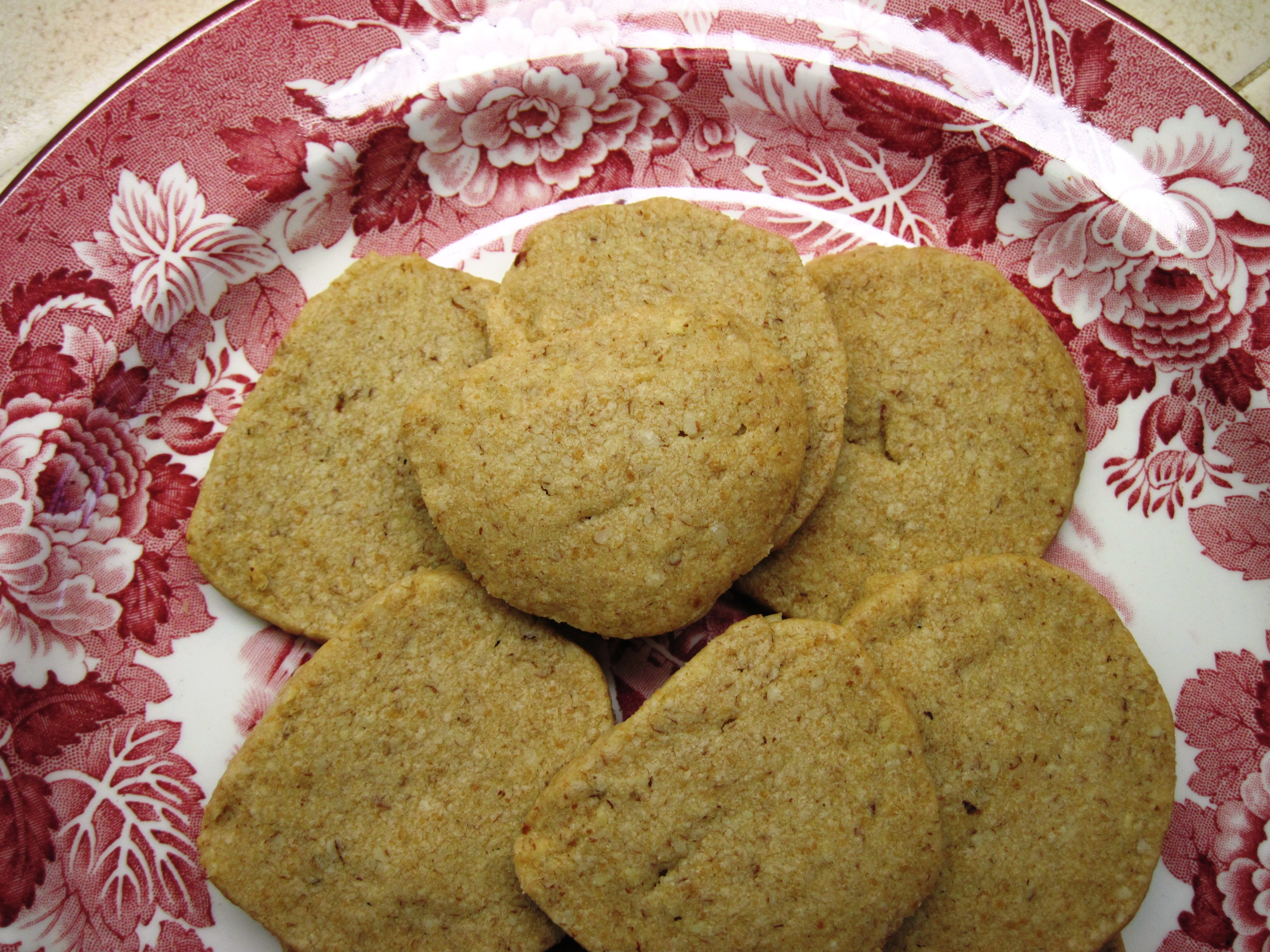 Maple Sugar Pecan Shortbread Cookies