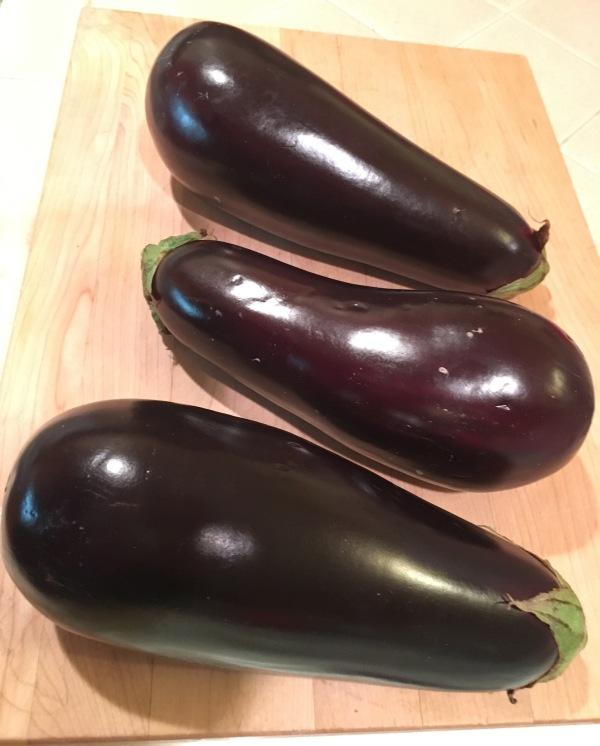 2.25 pounds eggplant