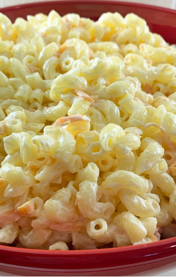 Gluten-free Hawaiian Macaroni Salad