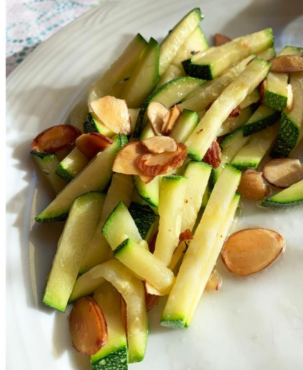 Quick Zucchini Saute